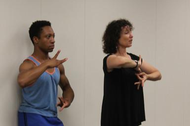 Janet rehearses Apollo