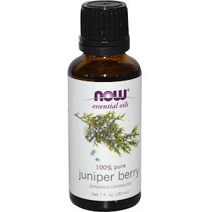 Juniper Berry, 100% Pure, 1 fl oz (30 ml), NOW essential oils