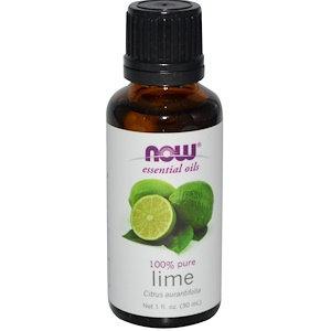 Lime, 1 fl oz (30 ml), NOW Essential oils