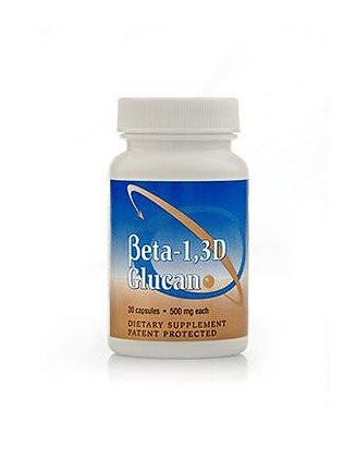 Beta 1,3D Glucan 500mg, 30 Capsules, Transfer Point