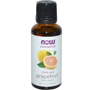 Grapefruit, 100% Pure, 1 fl oz (30ml), NOW Essential oils