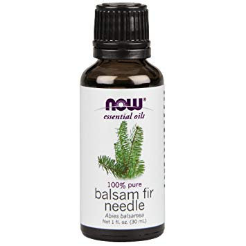 Balsam Fir Needle Oil, 100% Pure, 1 fl. oz. (30ml), NOW Essential Oils