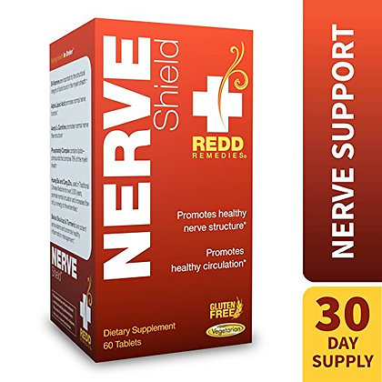 Redd Remedies - Nerve Shield, Nerve Support 60 Count