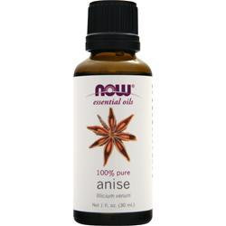 Anise Oil, 100% Pure, 1 fl. oz (30 ml), NOW Essential Oils