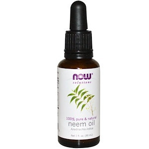 Neem Oil, 1 fl oz (30 ml), NOW Solutions