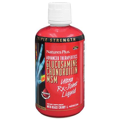 Glucosamin Chondroitin MSM, Triple Strength, 30 fl. oz, Nature's Plus