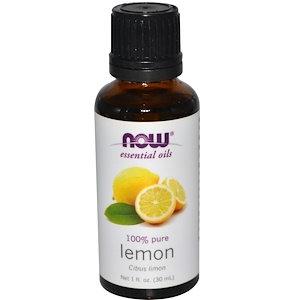 Lemon, 1 fl oz (30 ml), NOW Essential Oils