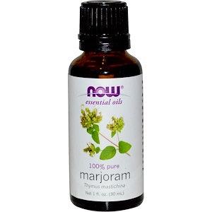 Marjoram Oil, 1 fl oz (30 ml), NOW essential oils
