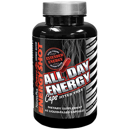 All Day Energy, Source of Life, 60 Liquid-filled Capsules,
