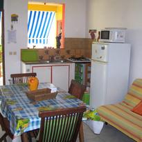 Salon / Cuisine Gîte Soleil