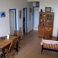Salon / Cuisine Gîte Mer