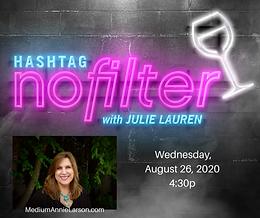 Medium Annie Larson hashtag nofilter