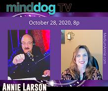 Annie Larson MindDog TV appearance