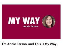 Annie Larson My Way Posh Seven Magazine