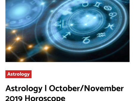 October/November 2019 Horoscopes