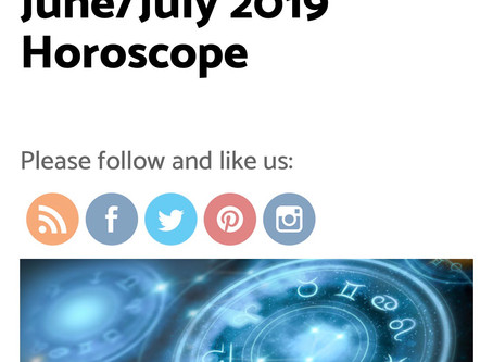 June/July 2019 Horoscopes