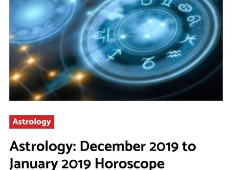 December 2019/January 2020 Horoscopes