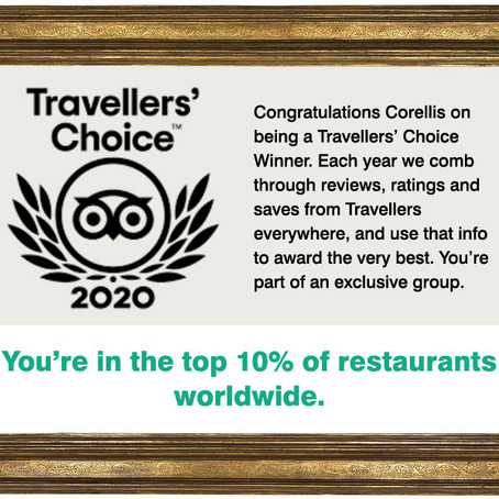 Traveller's Choice Award 2020