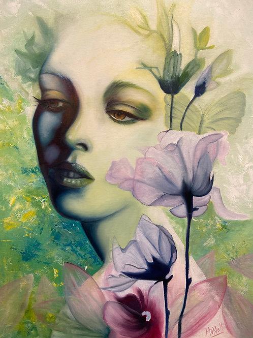 """Entre verdes y lilas"" by Monica Carbonell"