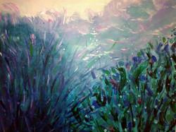 Moscoso Marisa desde el fondo del mar Acrylic on canvas