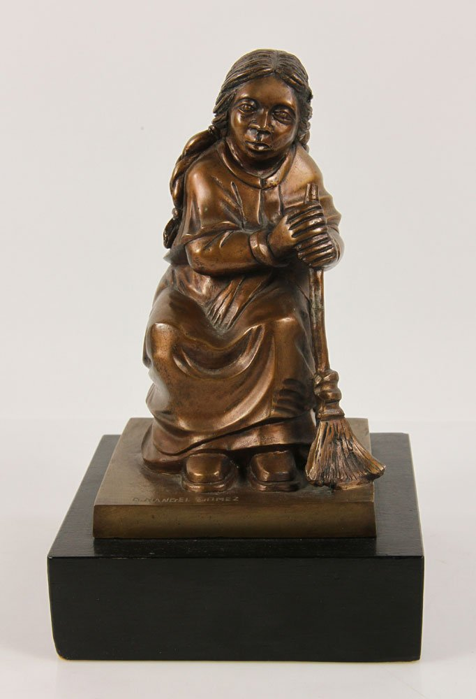 Rangel Gomez. Sculpture.Bronze.$1,000.