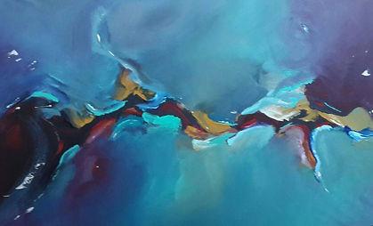 Schneider, Patricia. Acrylic on canvas