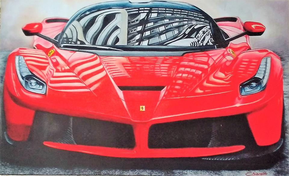 """Chiarello, Nicky. """"La Ferrari"""""""