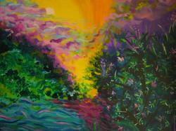 Moscoso Marisa. travesia  Acrylic on canvas