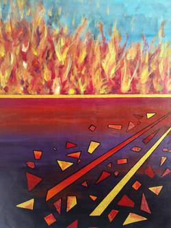 Arde la tierra - Marisa Moscoso