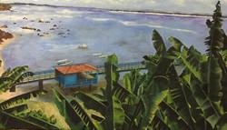 Montemurro, Carina. Oil on canvas. Seri Paisajes I