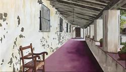 Montemurro, Carina. Oil on canvas. Serie Paisajes II.