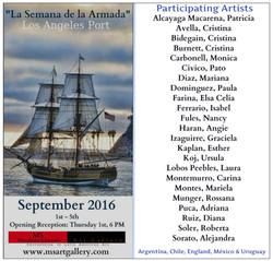 fleet week con nombres de los artistas