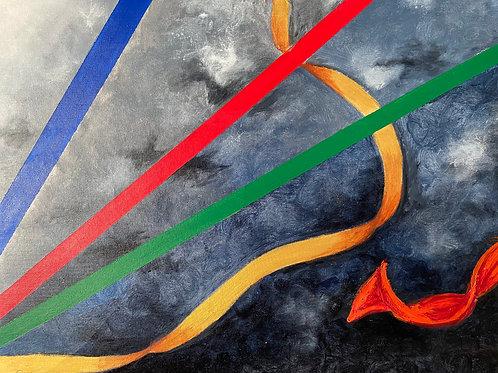 """""""La  Liberación del color"""" by Marisa Moscoso"""
