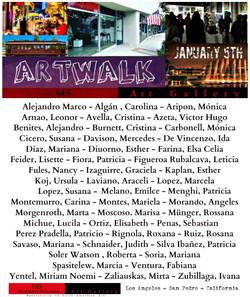 ArtWalk Enero 2017 AW