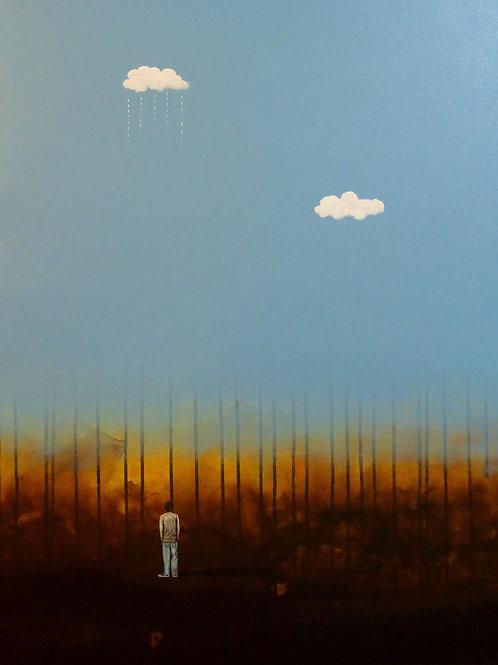 """A solas"" by Nector Mejia"