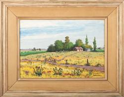 Parodi, Antonio. Paisaje. Oil on board. 10 x 14 in.$1,800
