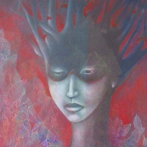 """Personaje en silencio"" by Lisette Feider"