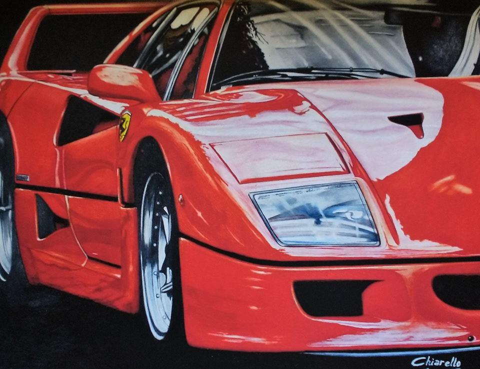 """Chiarello, Nicky. """"Ferrari F 40"""""""