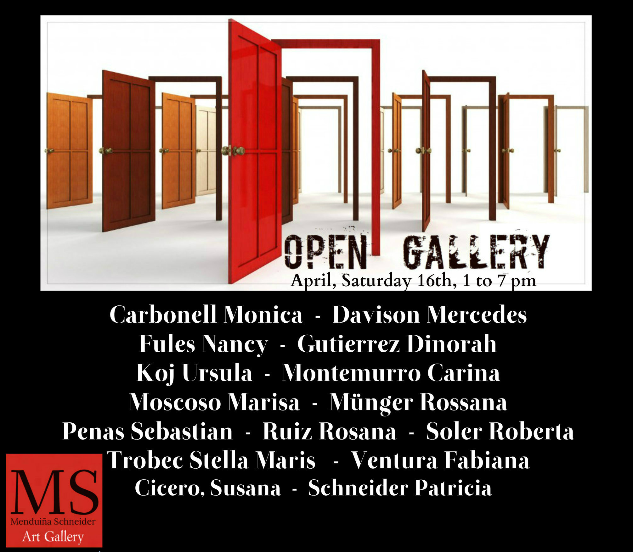 open gallery APRIL