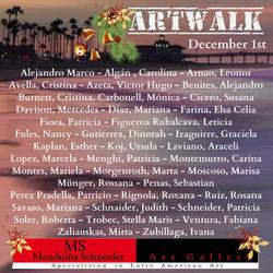 December 1st ARTWALK PNG