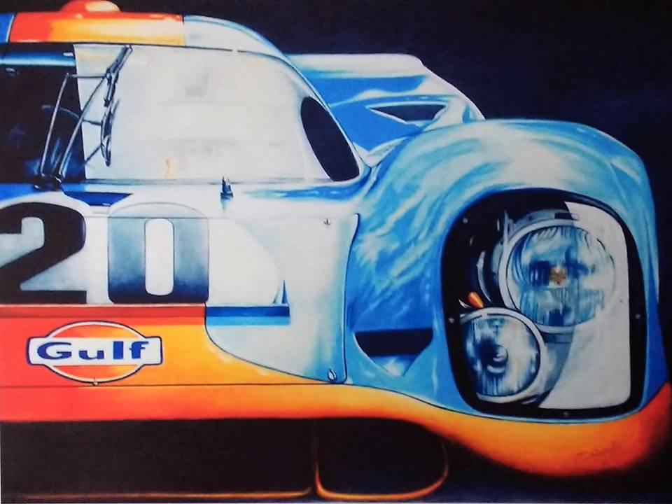 Chiarello, Nicky. Porsche 917 Gulf