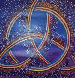 Moscoso Marisa. Tricketa Celta. Acrylic on canvas
