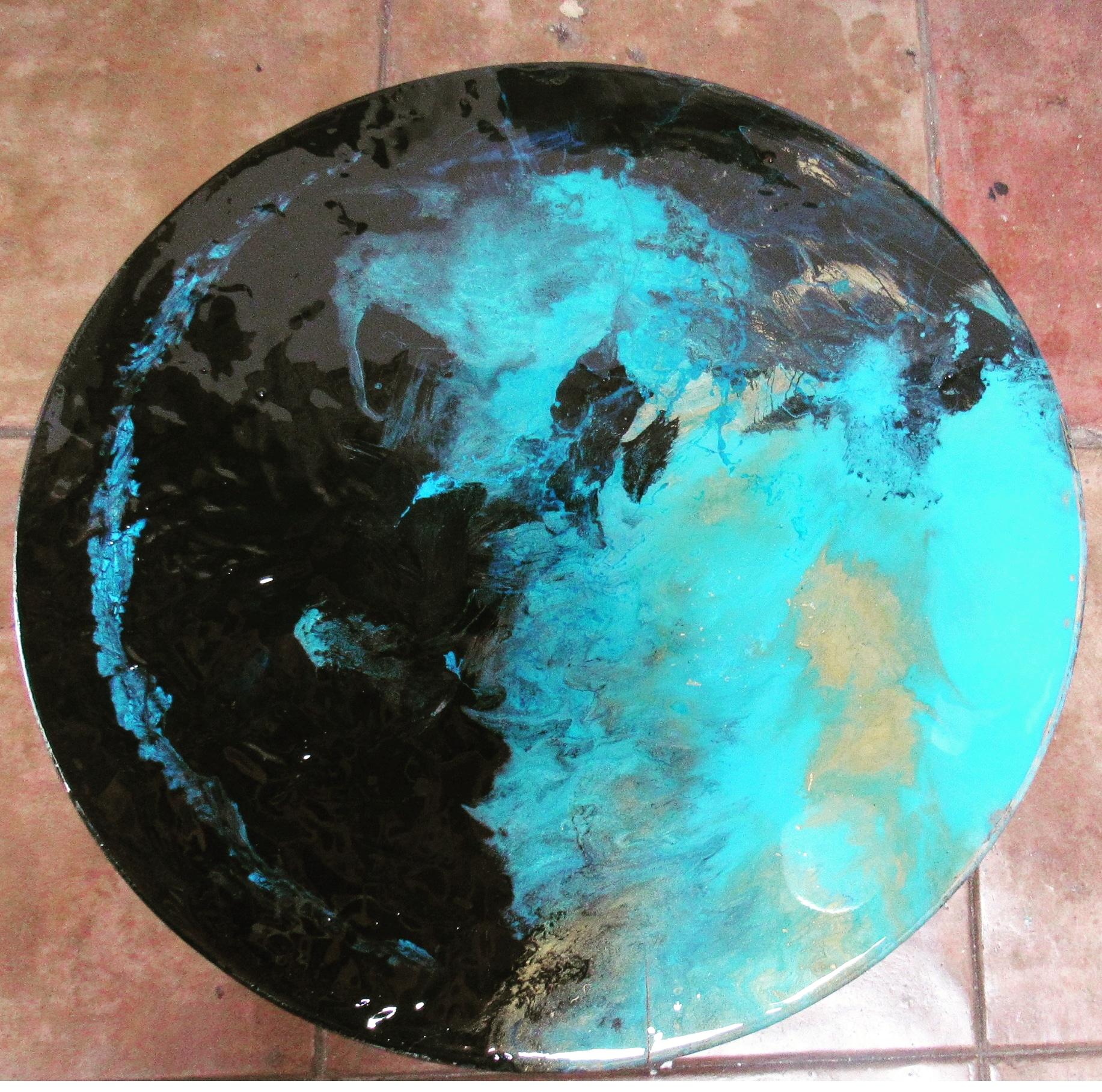 Circle. 22,5 x22,5 inches