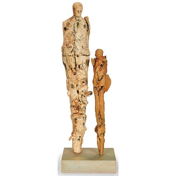 Espinosa Susana. Sculpture.Untitled. ceramic, 27x 8 x 4.NFS