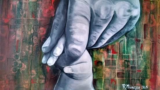 Munger Rossana. Derecho a tener una familia. Acrylic on canvas