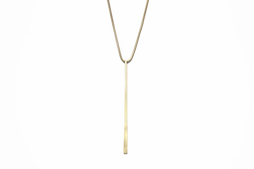 Long Pin Necklace