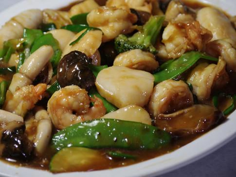 Stir-fry Shrimp