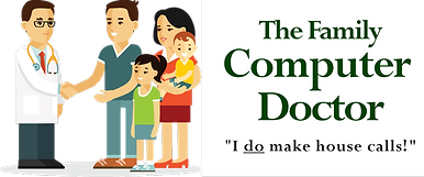 The Family Computer Doctor Logo