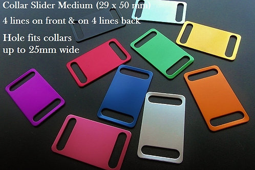 Aluminium Collar Slider