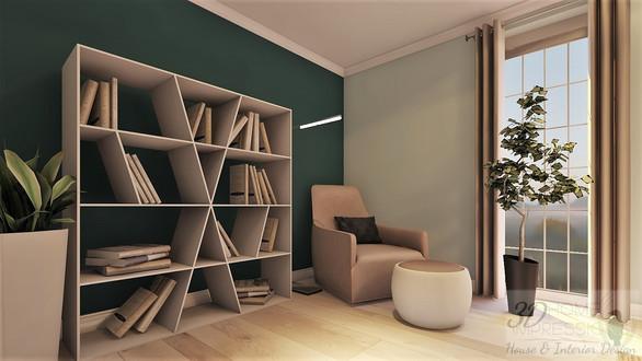 3D room view of revised floorplan (ULTIMATE)